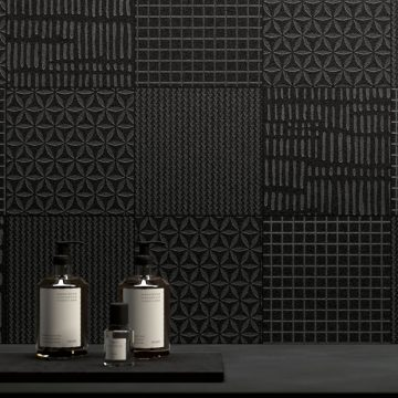 decorazione-parete-metallo-scuro